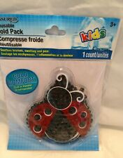 reusable ladybug cold pack new