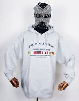 Dgk Skateboards Hooded Sweatshirt Sweater Nautical Grey in L Dirty Ghetto Kids