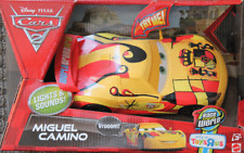 Disney Pixar Cars 2 Miguel Camino Lights and Sounds Storage Imperfections