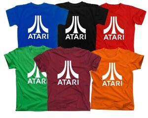Herren FUN T-SHIRT Atari Spielekonsole Funshirt Fans Flashback Atari 2600 Spass