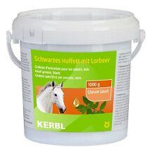 Huffett schwarz 1000ml Hufpflege mit Lorbeer Pflanzenöl und Naturwachs