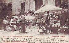 Turkey Istanbul Yeni Djami Farmers Market 1909 Keokuk & Redoak TPO RPO postcard