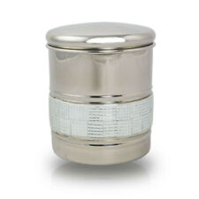 New listing Silver Sparkle Stainless Steel Cremation Urn for Ashes - Small Silver
