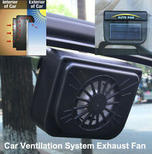 Solar Powered Car Air Vent Truck Cool Auto Cooler Ventilation System Exhaust Fan