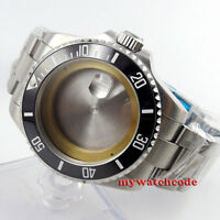 43mm sapphire glass sub Watch Case fit ETA 2824 2836 miyota 8215 MOVEMENT C54