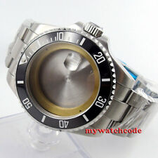 43mm sapphire glass sub Watch Case fit ETA 2824 2836 miyota 8215 MOVEMENT C54