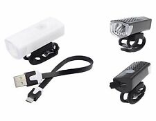 "BIKE LIGHT ""ray-pal"" 300 LUMEN USB CHARGE - BULK BUY 20 PACK"