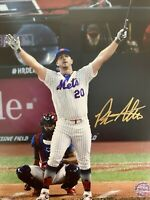 Pete Alonso Signed Auto 8x10 Photo MLB New York METS COA