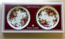 """NEW In Package 2 Royal Albert Old Country Roses 5"""" Bread Butter Dessert Plates"""