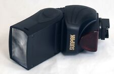 SUNPAK PZ40X II Power Zoom 40X Flash for SLR DSLR Film Digital Camera