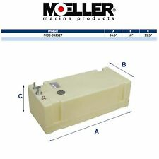 Moeller 32527 27 Gallon Below Deck Permanent Marine Fuel Tank