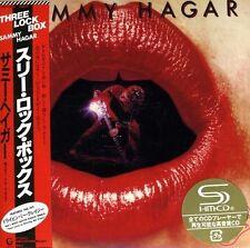 SAMMY HAGAR - THREE LOCK BOX - JAPAN MINI LP SHM CD - REMASTERED - Sammy Hagar
