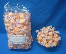 Gourmet Orange Flavored Salt Water Taffy 2 Pounds