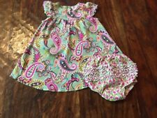 Vera Bradley dress 6-9 months 6 9 diaper cover EUC