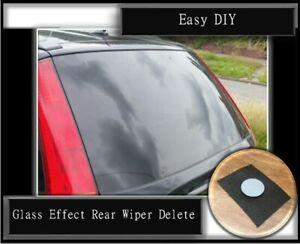 Ford Fiesta mk6 mk6.5 Smooth Flush Rear Wiper Delete ST150 ZS Zetec 02-08