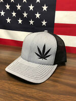 Medical Marijuana Industry Hat Richardson 112 Trucker Cap Heather pot cbd hemp