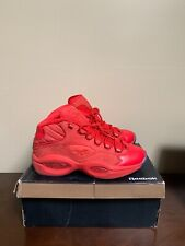 RED Teyana Taylor Reebok Question Mids - Size 10 - Preowned with Box e0437da58