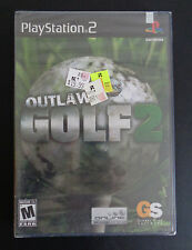 OUTLAW GOLF 2 (Sony PlayStation 2, 2004) Video Game NEW Free Shipping SEALED PS2