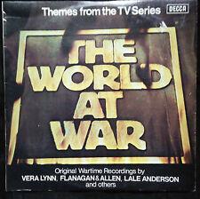 THE WORLD AT WAR TV SERIES SOUNDTRACK VINYL LP AUSTRALIA
