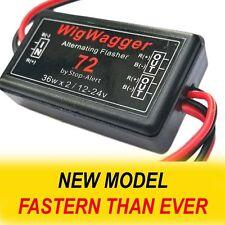 Alternating Wig Wag Electronic WigWagger 72 LED Flasher Relay Emergency Police