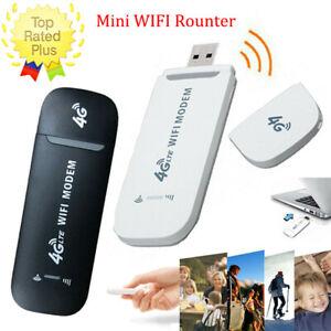 Car WIFI Wireless 4G LTE USB Dongle Unlocked Stick Mobile SIM Card Plug Internet