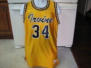 UCI Anteaters men's Basketball team game jersey University California Irvine