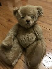 "15"" MOHAIR JOINTED TEDDY BEAR CLASSIC BROWN PLUSH DOLL STUFFED ANIMAL LINDA"