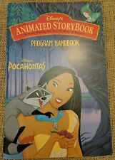 (3B2)  DISNEYS ANIMATED STORYBOOK POCAHONTAS PROGRAM HANDBOOK ONLY Free shipping