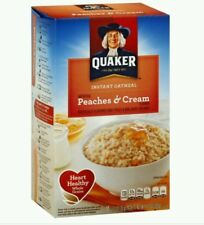 Quaker Oatmeal Peaches and Cream Instant Hot Cereal