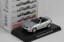 Mercedes-Benz AMG SLK 55 silver silber 1:64 Kyosho Japan Minichamps