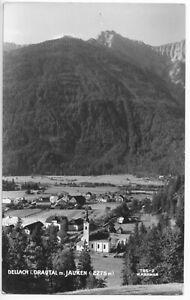 AK, Dellach im Drautal, Kärnten, Teilansicht mit Jauken, um 1958