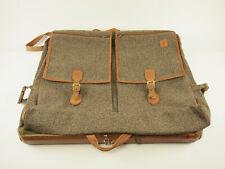 Hartmann Luggage walnut tweed garment bag