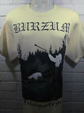 BLACK METAL FSFEM BEIGE T-SHIRT SIZE LARGE 100% COTTON YAZBEK BRAND