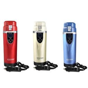 1PC 12v Car Heated Cup Electric Kettle Travel Intelligent Unfreezing Mug Heating