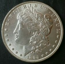 1885 $ 1 Morgan Silver Dollar