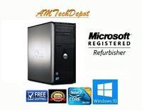 Dell Optiplex 780 Core 2 Duo 8GB 500GB HDD Win10 Pro 64-BIT