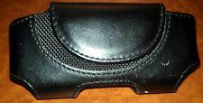 Leather Case Pouch Holster for Net10 Motorola W375G, EM326G, C139, TMobile W490