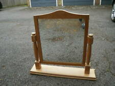 LARGE PINE SWIVEL DRESSING TABLE MIRROR