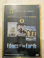 Edges Of The Earth National Geographic (DVD, 2006, 3-Disc Set) 3 HOURS