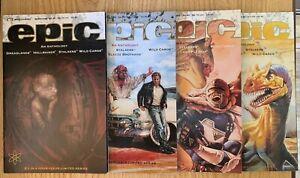Epic Comics An Anthology #1 2 3 & 4 Hellraiser Nightbreed VFN /NM 1992