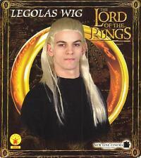LORD OF THE RINGS Fantasy Movie Orlando Bloom LEGOLAS Elven Mens Gold Brown WIG