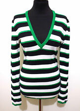 DENNY ROSE Maglia Maglione Donna Lurex Woman T-Shirt Sweater Sz.M - 44