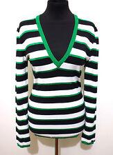 DENNY ROSE Maglia Maglione Donna Lurex Woman T-Shirt Sweater Sz.M - 44