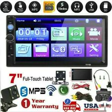 7 Inch DOUBLE 2DIN Car MP5 Player BT New Touch Screen Stereo Radio HD+Camera HU