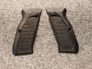 Custom Grips EAA Tanfoglio Witness Steel Black (Full Size Large Frame)