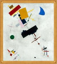 Suprematism Kasimir sewerinowitsch malevitch formas círculos rectángulos B a2 02754