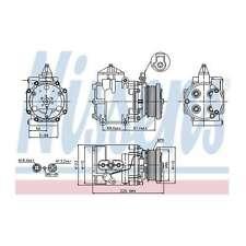Fits Ford Mondeo MK2 2.5 24V Genuine OE Quality Nissens A/C Air Con Compressor