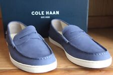 Cole Haan Pinch Weekender Navy Washed Indigo Nubuck Suede Men Size 11.5 C24810