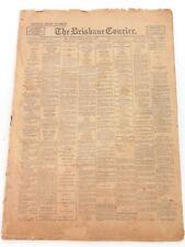 """.RARE 1925 """"THE BRISBANE COURIER"""" SPECIAL SHOW (EKKA) EDITION NEWSPAPER."""