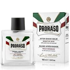 PRORASO AFTER SHAVE BALM SENSITIVE SKIN GREEN TEA AND OATMEAL 100ML